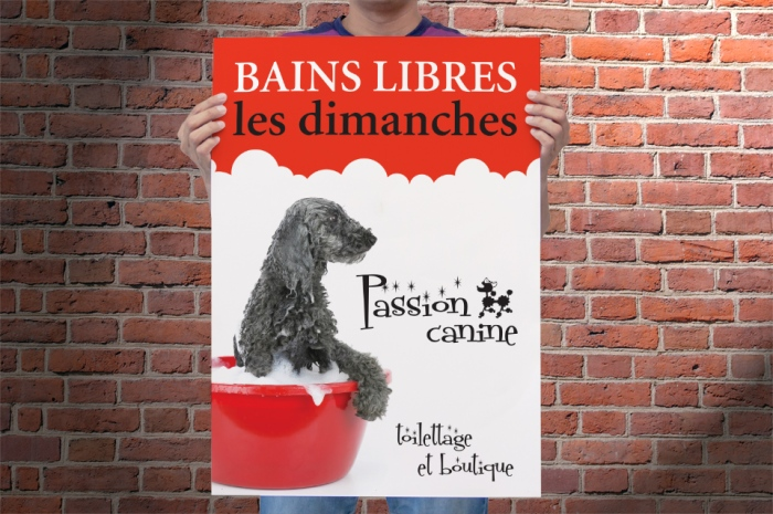 Poster passion canine