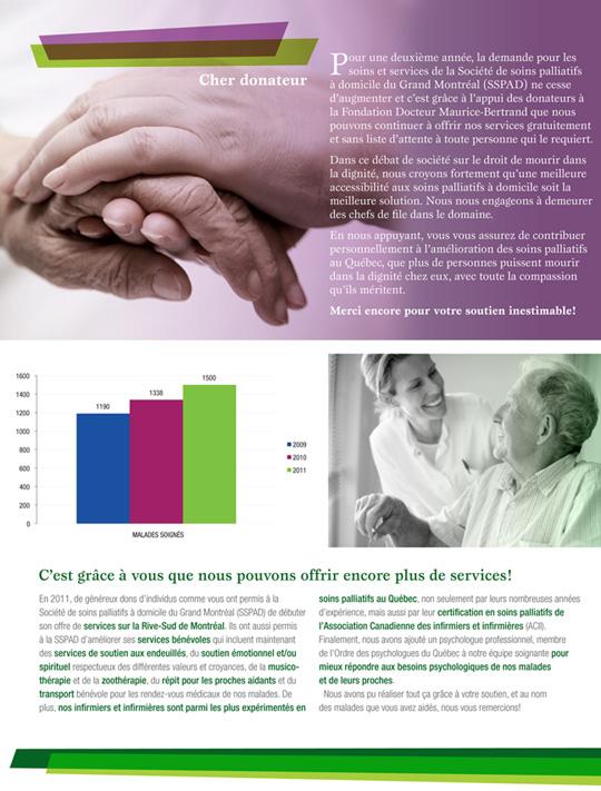Bulletin Société de soins palliatifs du Grand Montréal
