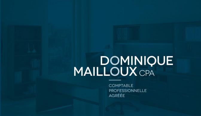 Logo Dominique Mailloux CPA