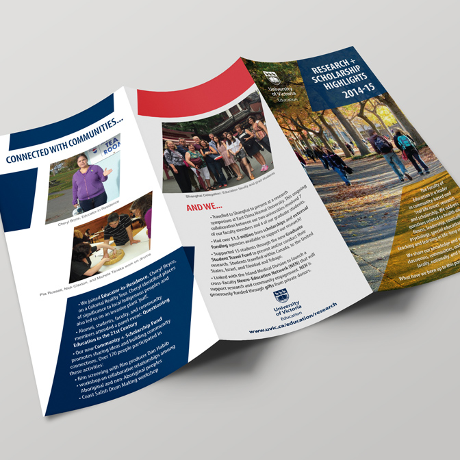 UVIC brochure