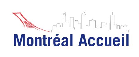 Conception graphique du logo de Montréal Accueil